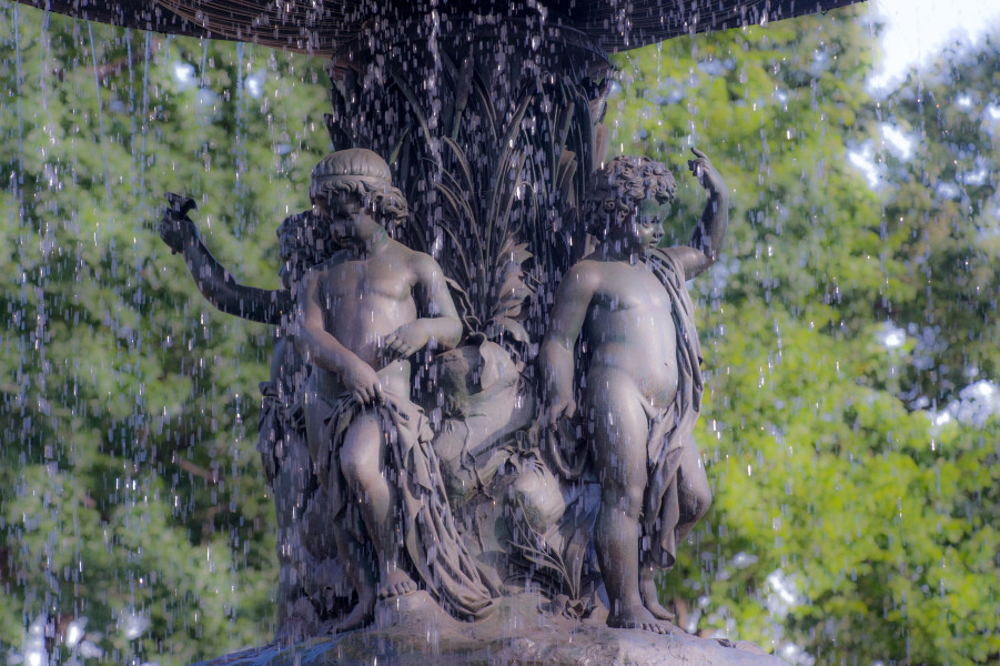 Ben Asen Personal Work Photo: Color photo of Bethesda Fountain in Central Park, New York City