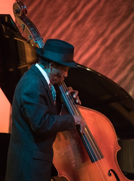 Ben Asen Editorial Photo: Jazz Bass Player, Billy Kaye playing at the Jazz Foundation of America in New York City