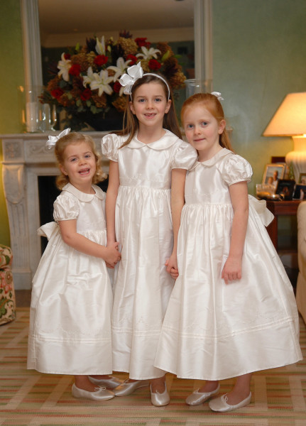 Ben Asen Celebration Photo: 3 flower girls at a wedding