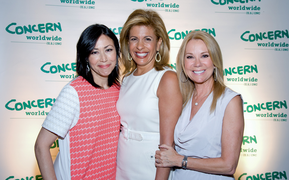 Ben Asen Event Photo: Ann Curry, Hoda Kotb & Kathy Lee Gifford at Concern Worldwide Woman of the Year Awards