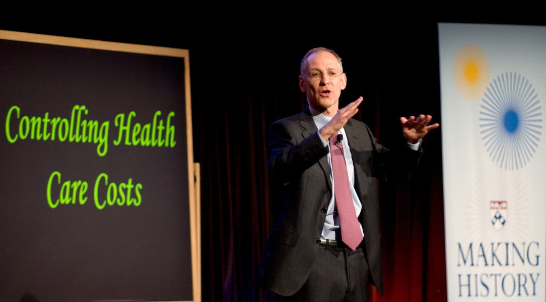 Ben Asen Event Photo: Dr. Zeke Emanuel, University of Pennsylvania Vice Provost for Global Initiatives Speaking at the Engaging Minds Event