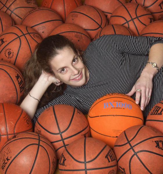 Ben Asen Portrait Photo: Erin Ellsworth, College of Mount Saint Vincent Women's Basketball Team
