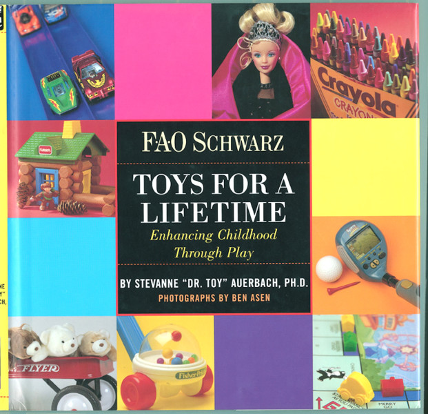 Ben Asen Editorial Photo: FAO Schwarz Toys For A Lifetime, a book with photographs by Ben Asen listing the 50 classic and popular toys sold over the years at FAO Schwarz