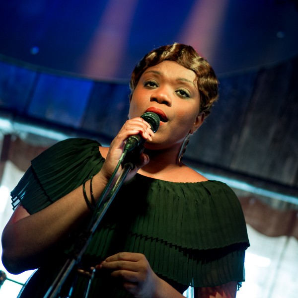 Ben Asen Editorial Photo: Female Gospel Singer at the Blue Rooster Sarasota Florida