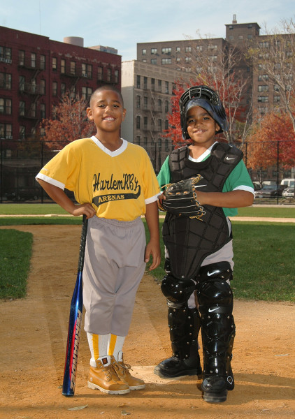 Ben Asen Editorial Photo: Harlem RBI which is a mentoring and tutoring program for New York City school students and where they have organized baseball as an activity.