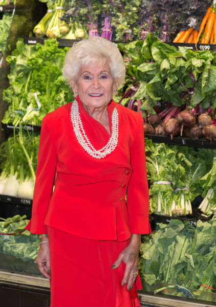 Ben Asen Portrait Photo: Color photo of Jane Golub, Co-founder of the supermarket chain Price Chopper for American Heart Association