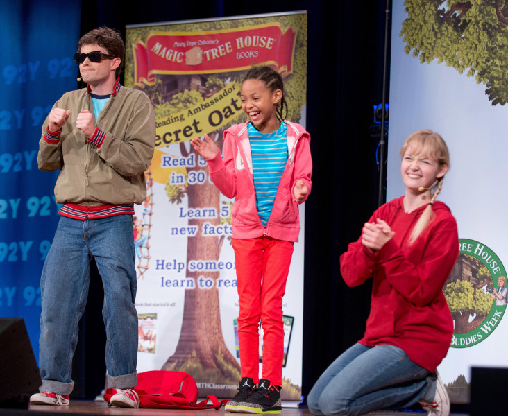 Ben Asen Event Photo: Random House Magic Tree House Performance AT the 92nd Street Y