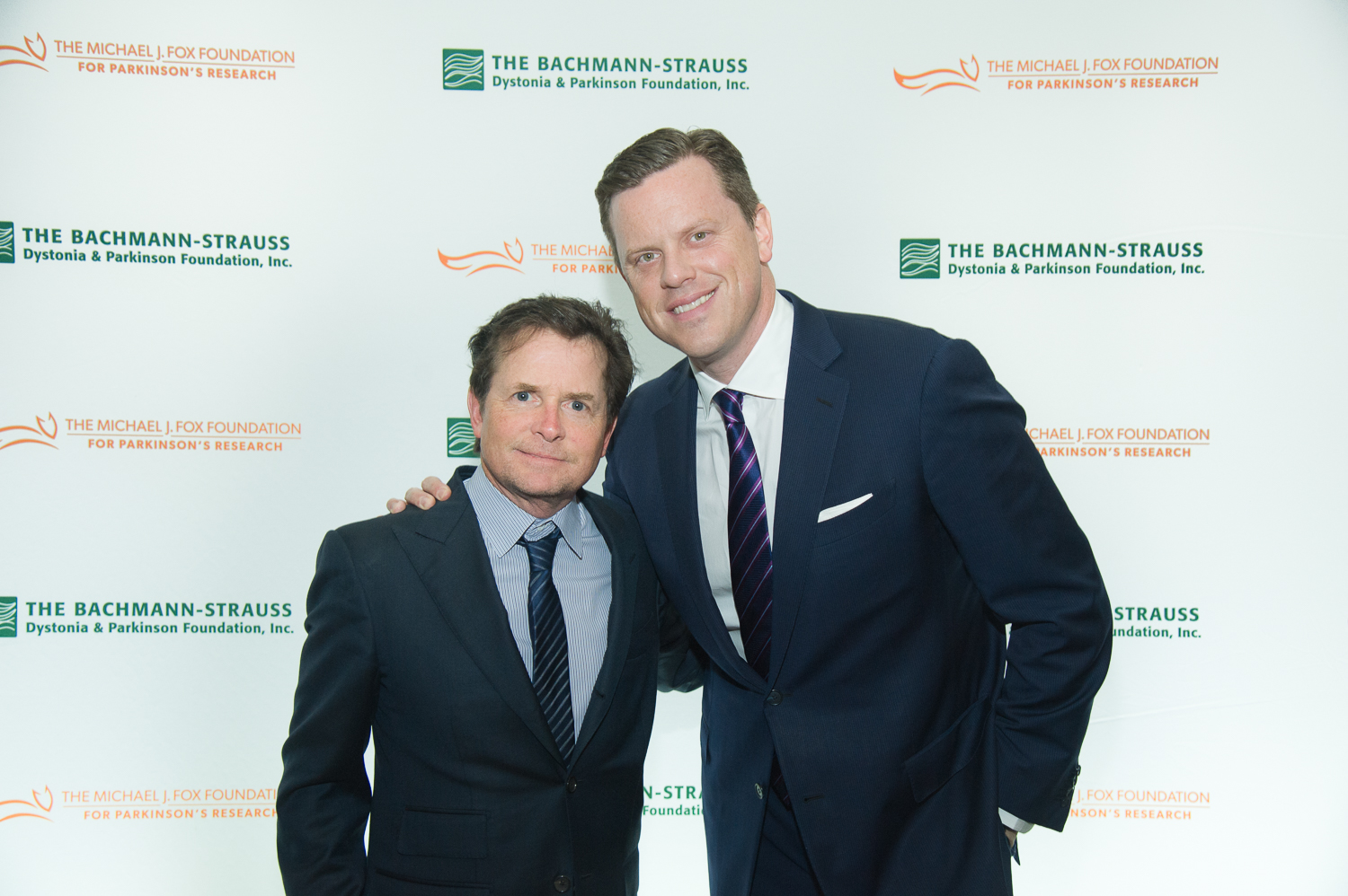 Michael J Fox & Willie Geist