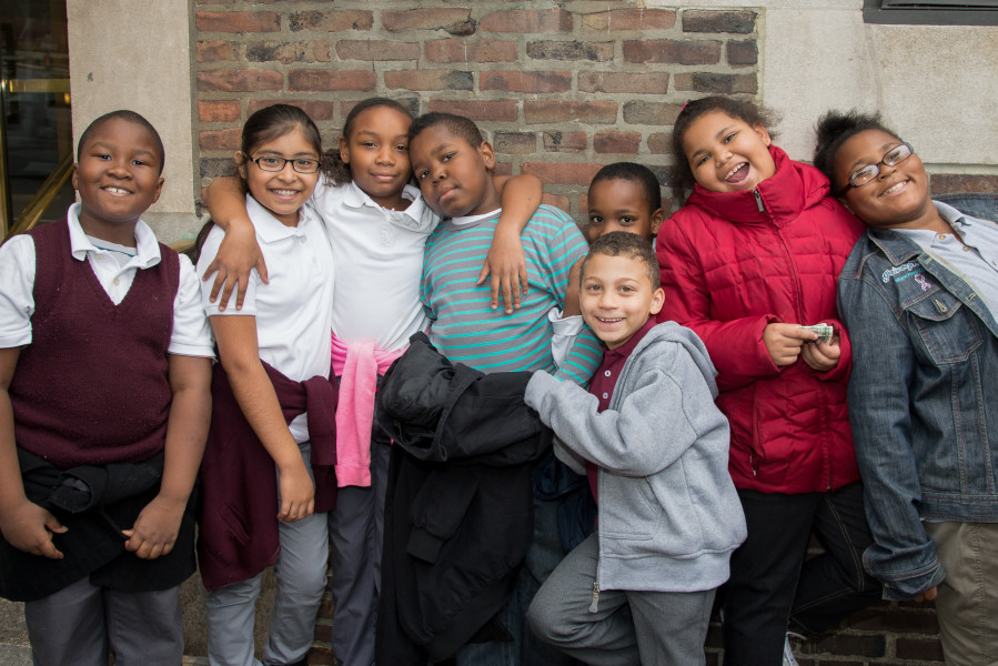 Ben Asen Editorial Photo: New York City school students ant a Random House Childrens' Book Event
