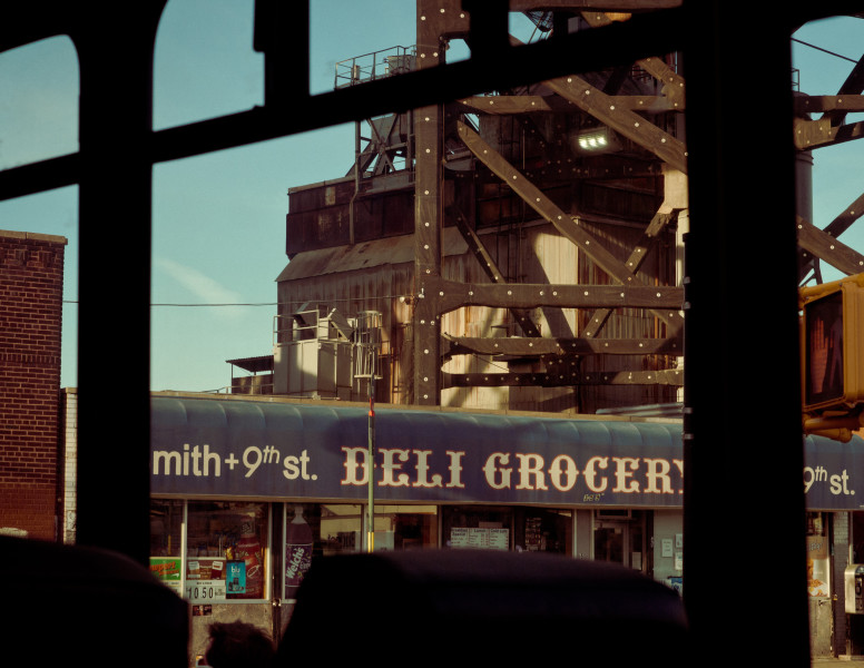 Ben Asen Personal Work Photo: Color photo of deli grocery at Smith and 9th Street in Red Hook, Brooklyn, New York.