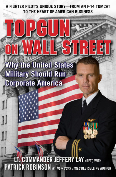 Ben Asen Portrait Photo: Lt. Commander Jeffrey Lay, author of Top Gun, Why the Military Should Run Wall Street