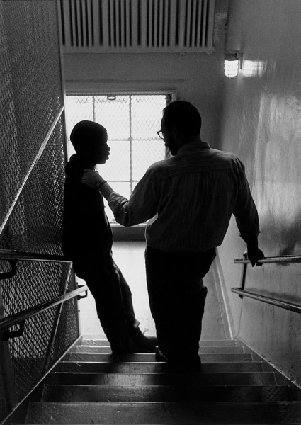 Ben Asen Editorial Photo: United Way of NYC- Teacher Giving Guidance to a NYC High School Student